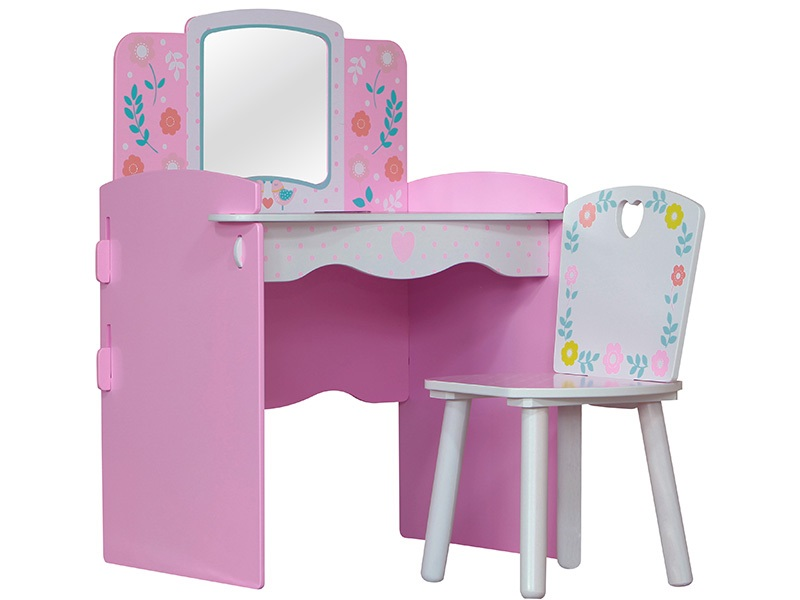 Country Cottage Dressing Table & Chair Main Image