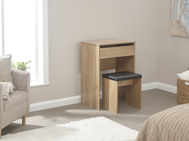 Compact Dresser and Stool Main Image