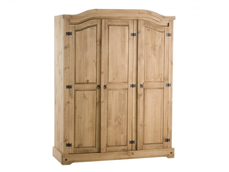 Corona 3 Door Wardrobe Main Image