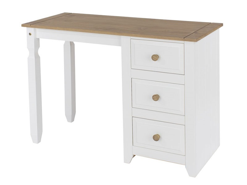 Capri Single Pedestal Dressing Table Main Image