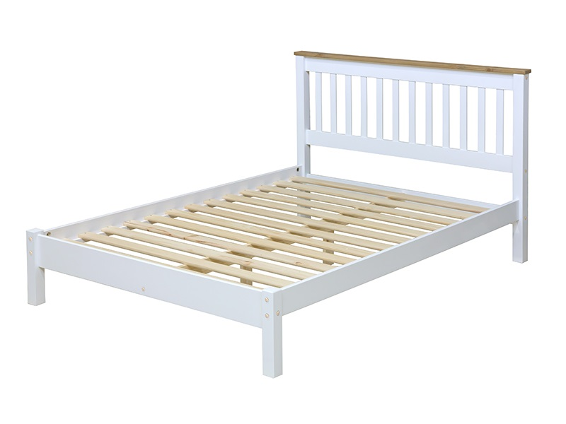 Furniture Express Capri 3\' Single Wooden Bed Image0 Image