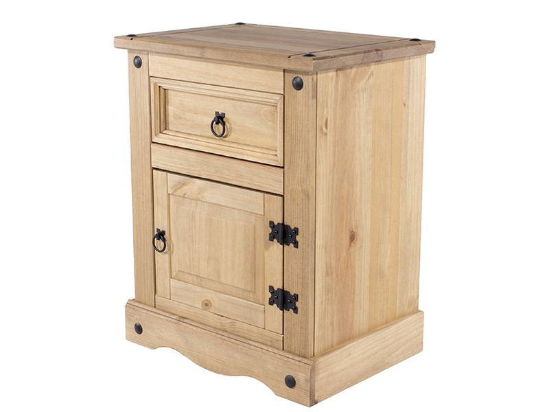 Furniture Express Brazil Original 1 Door and 1 Drawer Bedside Cabinet Bedside Chest Image0 Image