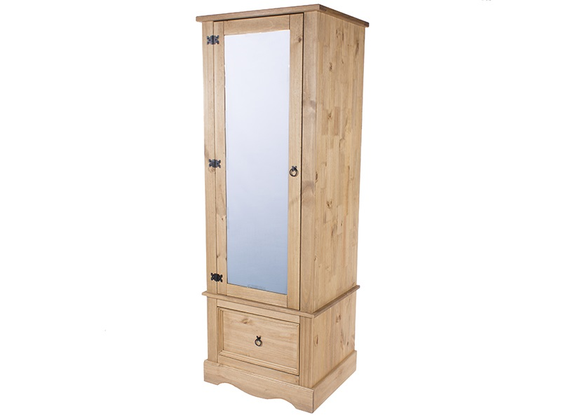 Furniture Express Brazil Original Armoire With Mirrored Door Wardrobe Image0 Image