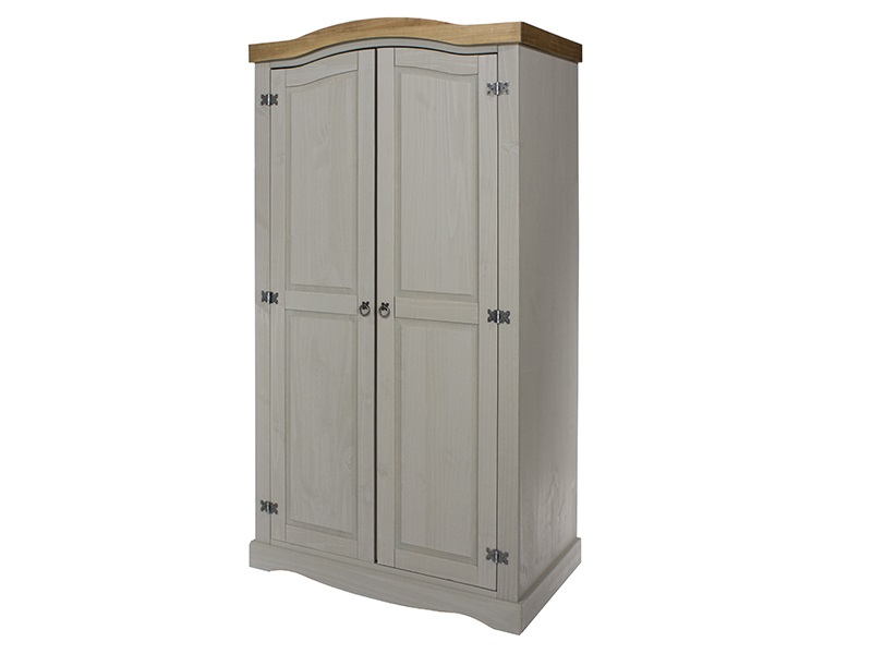 Furniture Express Brazil Grey 2 Door Wardrobe Wardrobe Image0 Image