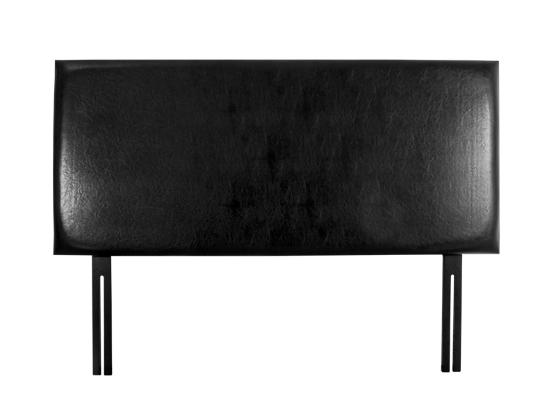 Snuggle Beds Columbus Black Headboard King Size Leather Headboard
