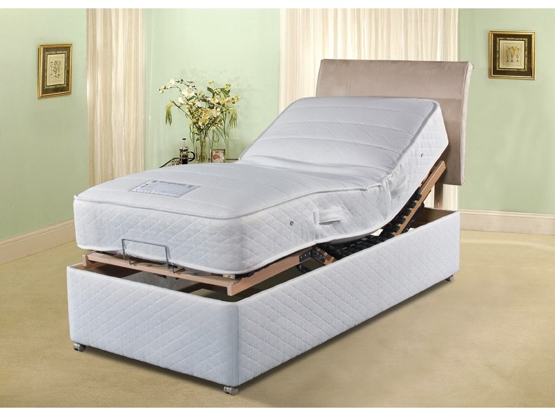 Cool Comfort Electric Bed With Drawers Main Image