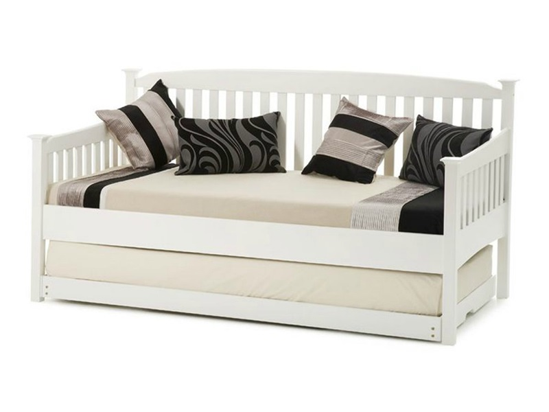 Eleanor Day Bed with Guest Bed (Opal White) Main Image
