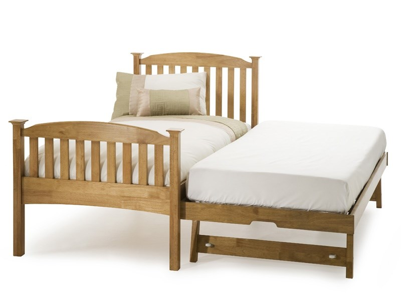 Eleanor High Footend Guest Bed (Honey Oak) Main Image