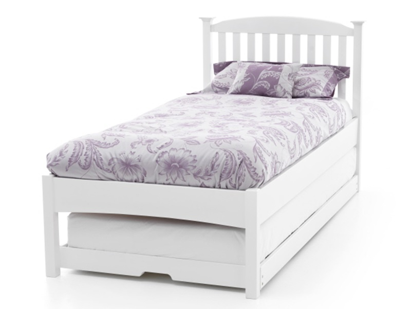 Eleanor Low Footend Guest Bed (Opal White) Main Image