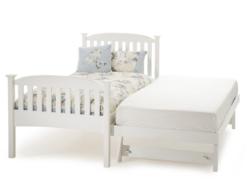Eleanor High Footend Guest Bed (Opal White) Main Image