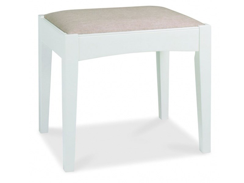 Bentley Designs Hampstead Stool Oak and White Stool Image0 Image