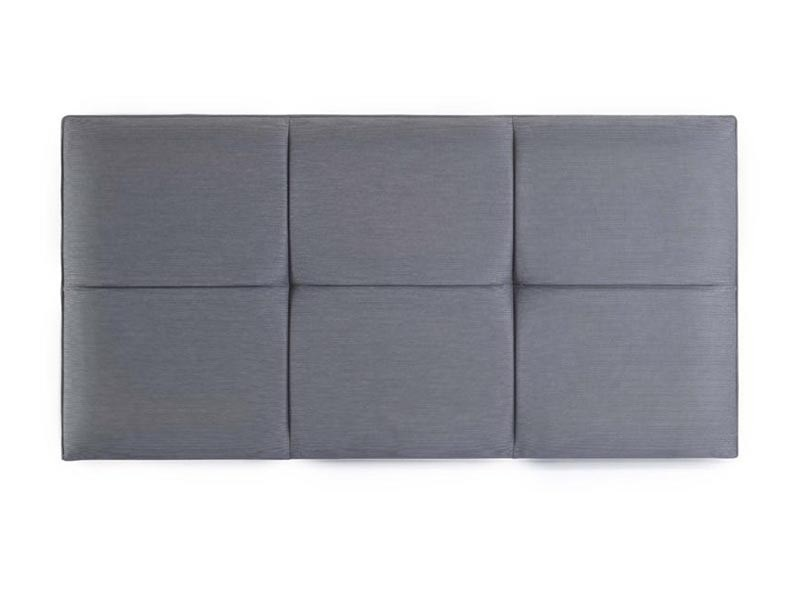 Hypnos Fiona - Strutted 4\' 6 Double Slate Weave Headboard Only Fabric Headboard Image0 Image