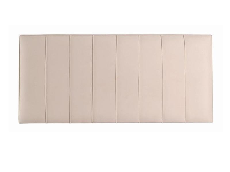 Hypnos Petra - Strutted 3\' Single Imperio Biscuit Headboard Only Fabric Headboard Image0 Image