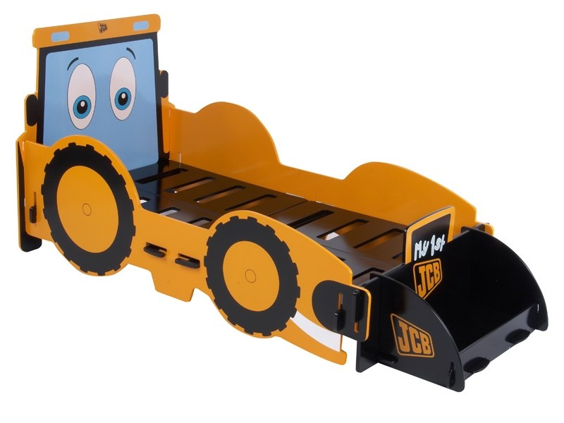 Kidsaw JCB Junior Bed 2\' 6 Small Single Kids Bed Image0 Image