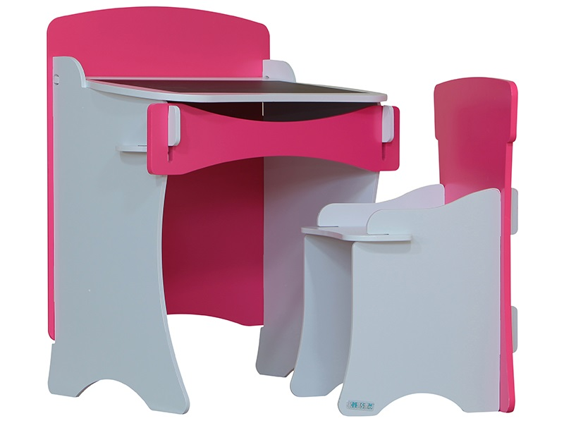 Blush Desk & Chair Main Image