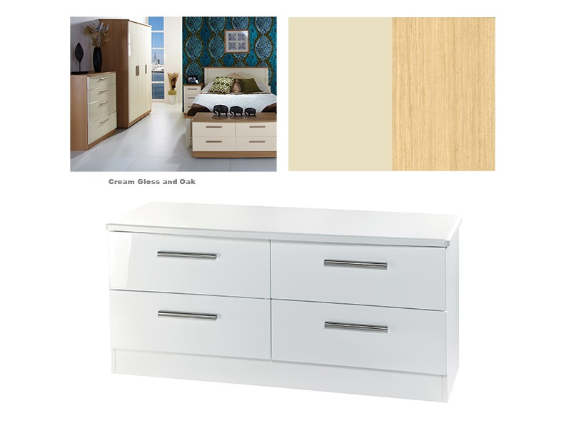Knightsbridge 4 Drawer Bed Box Main Image