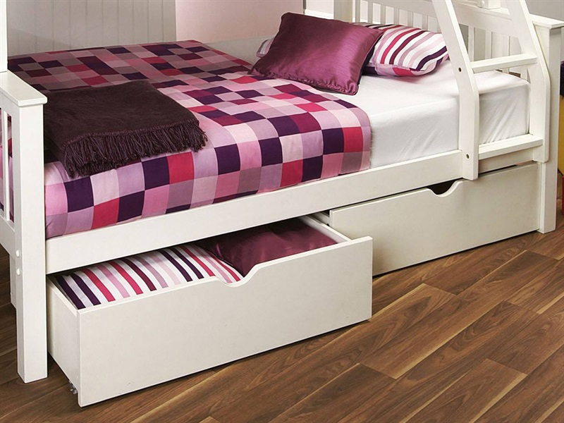 Limelight Pavo White Drawers Underbed Drawer Image0 Image