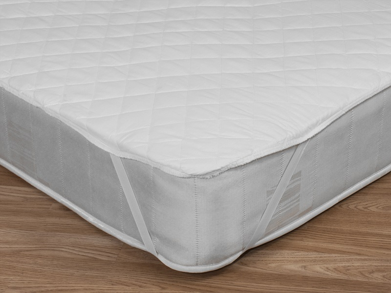Mayfair Polycotton Mattress Protector (Strapped) Main Image
