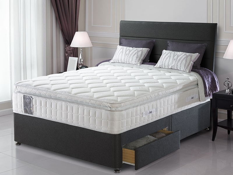 Sealy Millionaire Geltex Luxury 5\' King Size Mattress Image0 Image