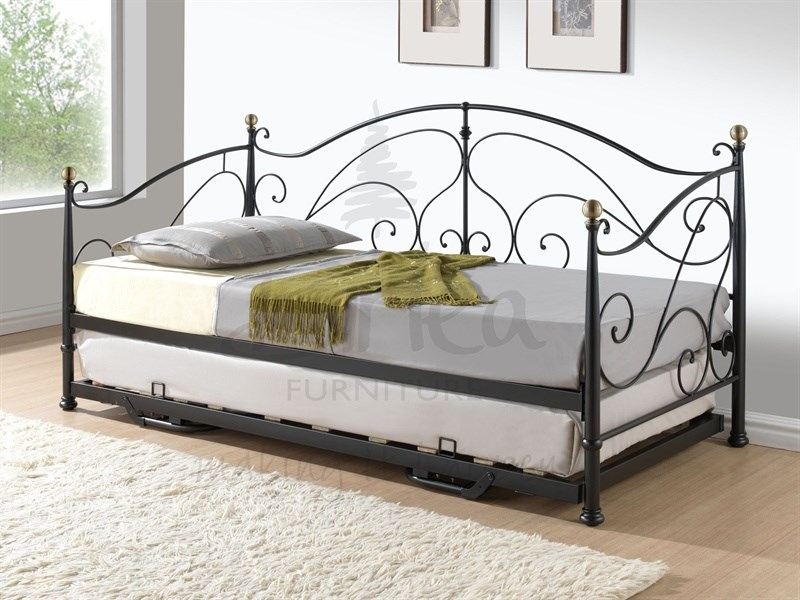 Milano Daybed With Trundle Black Main Image