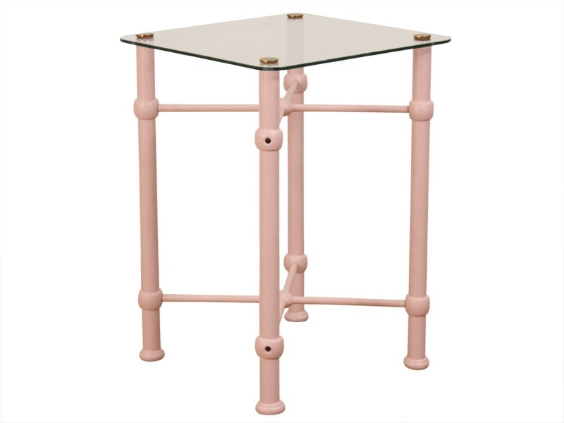 Modern Bedside Table (Baby Pink) Main Image