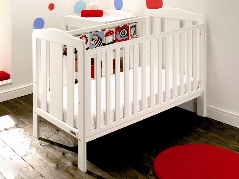 Morston Cot Bed in White Main Image