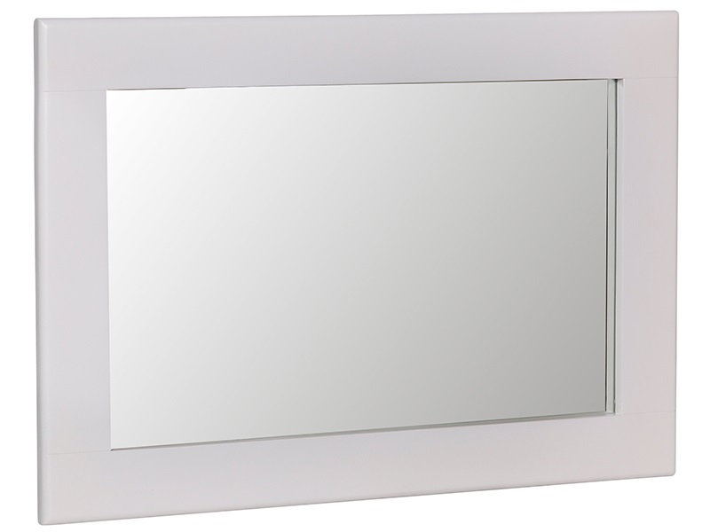 Norfolk White Small Wall Mirror Main Image