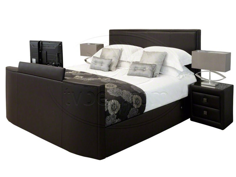 New York TV Bed in Chocolate Main Image