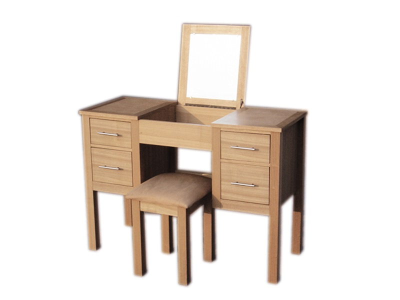 LPD Furniture Oakridge Dressing Table Set Dressing Table Image0 Image