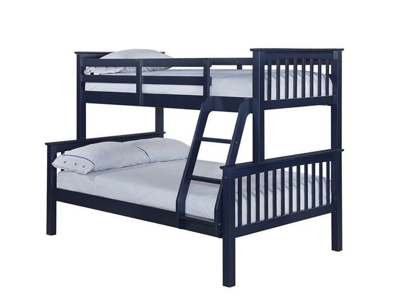 Furniture Express Otto Trio Bunk Navy 4\' Small Double Bunk Bed Image0 Image