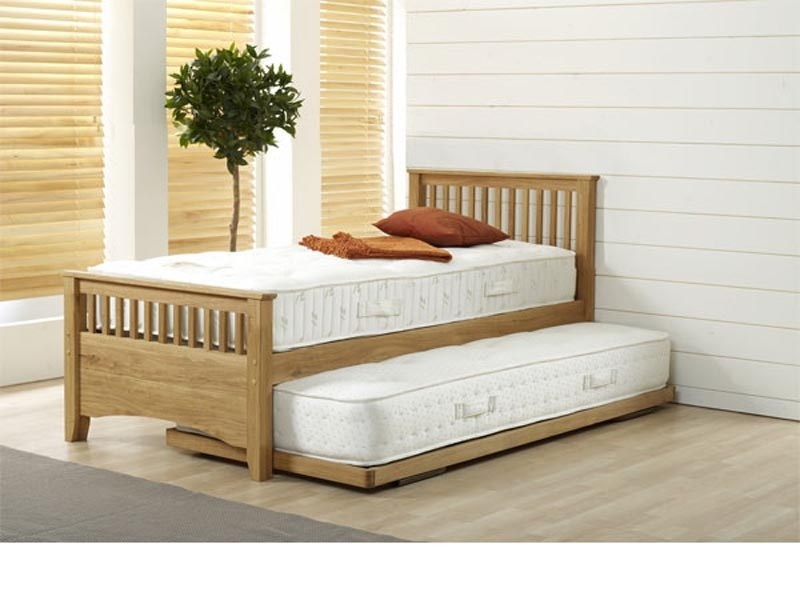 AirSprung Oakrest Guest Bed Frame 3\' Single Stowaway Bed Image0 Image