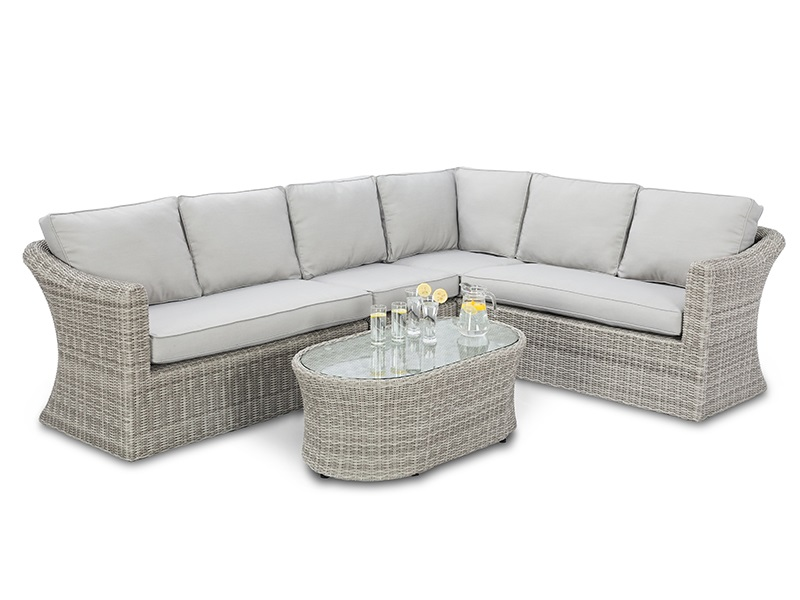 Maze Rattan Oxford Large Corner Group Corner Sofa set Image0 Image