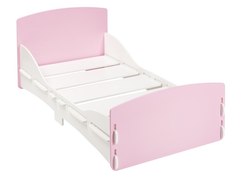 Shorty Junior Bed Pink Main Image