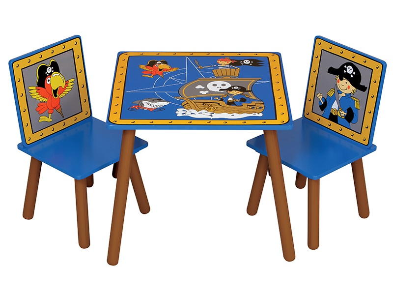 Kidsaw Pirate Table and Chairs Desk Image0 Image