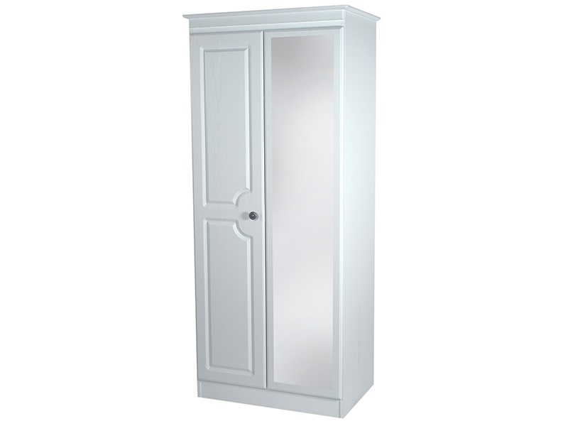 Pembroke Tall 2ft6in Mirror Robe Main Image