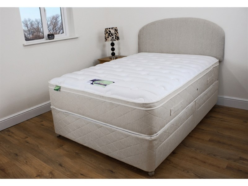 Pocket Deluxe Memory Sleep 4 Drawer Divan Set Main Image
