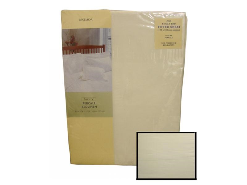 Restmor Fitted Sheet Ivory Main Image