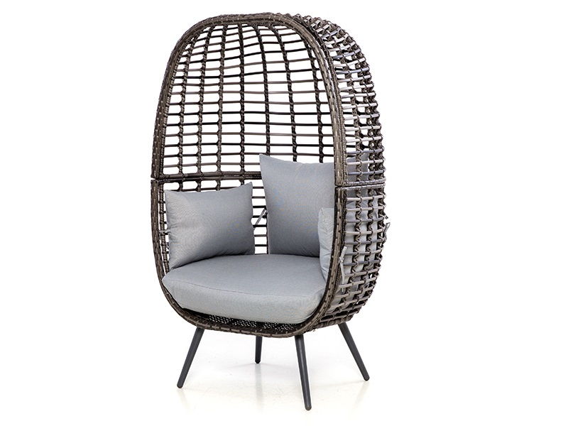 Maze Rattan Riviera Chair Grey Rattan Outdoor Chair Image0 Image
