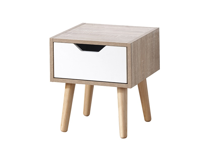 Stockholm 1 Drawer Nightstand Main Image