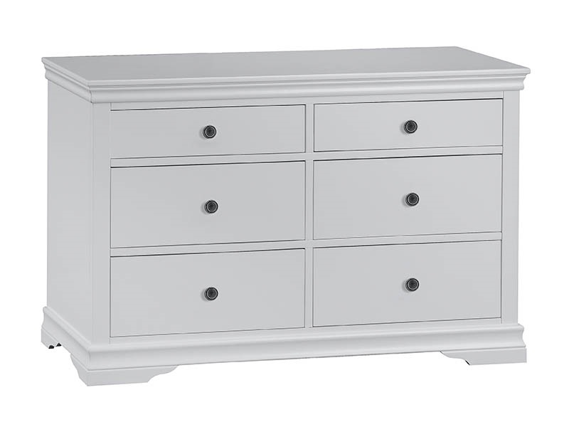 Cambridge White 6 Drawer Chest Image0 Image