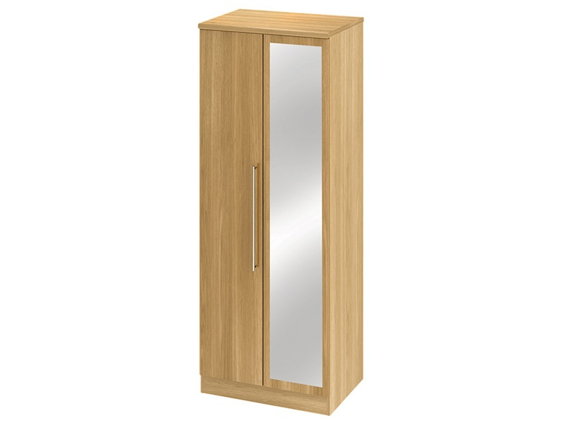 Sherwood Tall 2ft6in Mirror Robe Main Image