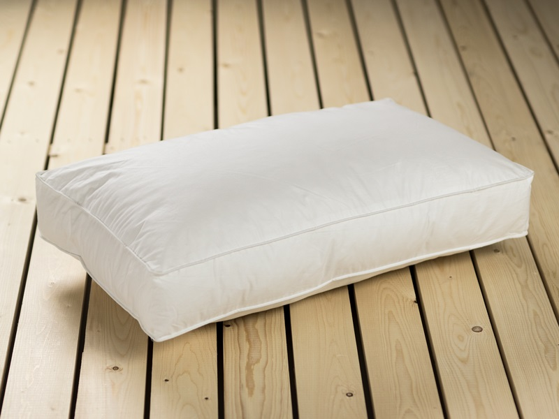 British Bed Company The Side Sleeper Pillow Hollowfibre Single Pillow Image0 Image
