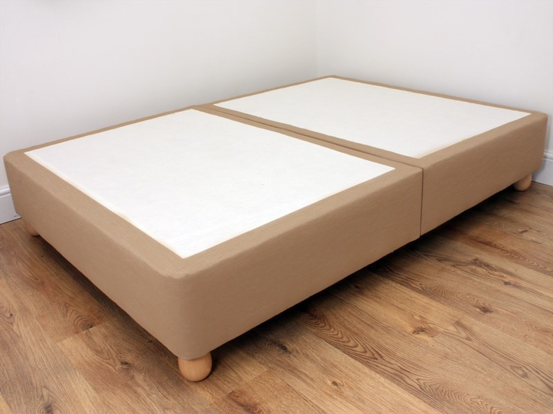 Executive Divan Base On Legs (Biscuit) Main Image