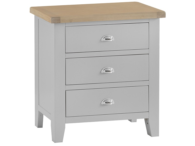 Southwold Grey 3 Drawer Chest Image0 Image