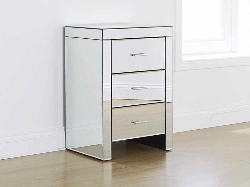 Murano 3 Drawer Bedside Main Image