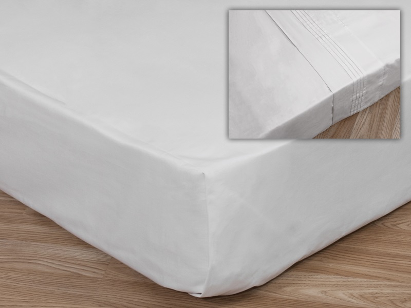 Cotton Sateen Flat Sheet, Deep Main Image