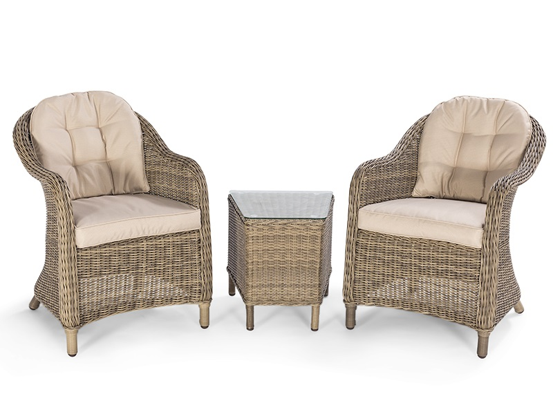 Maze Rattan Winchester 3 Piece Lounge Set Outdoor and Garden Image0 Image