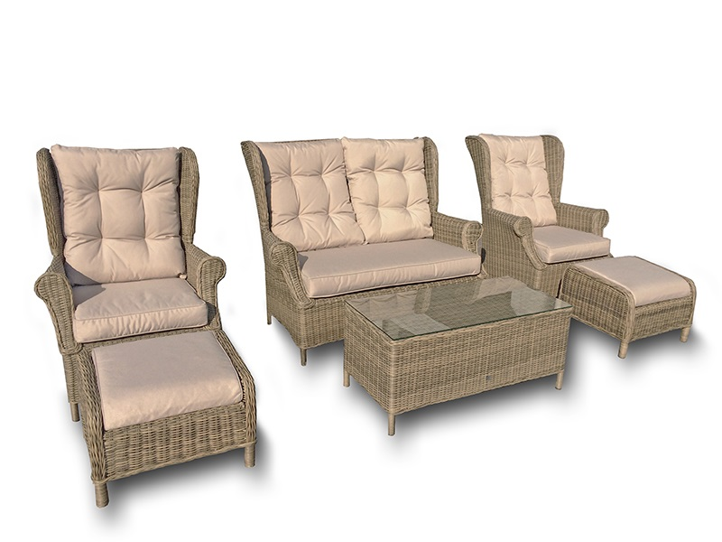 Winchester High Back Sofa Set Main Image