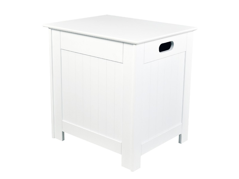 LPD Furniture Alaska Laundry Box White Storage Box Image0 Image