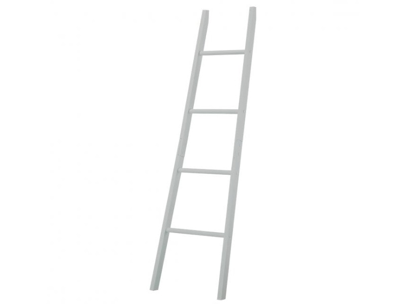 LPD Furniture Alaska Towel Ladder Dove Grey Bathroom Shelve Image0 Image